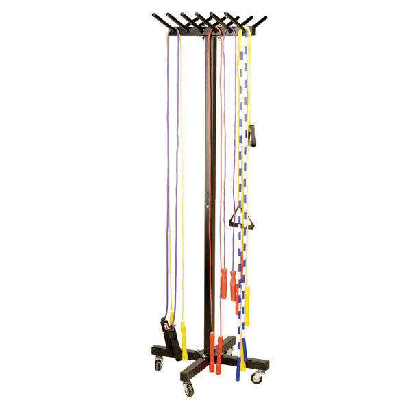 Portable Jump Rope Cart - Holds Over 200 Ropes