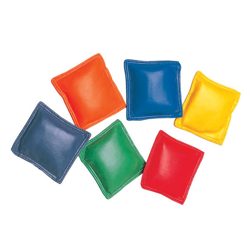 Multicolored Bean Bags | Set of 12