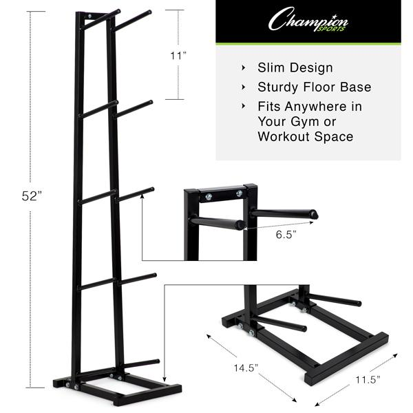 Single Column Medicine Ball Tree Rack Dimensions