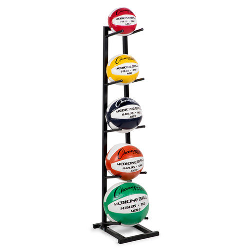 Medicine Ball Tree Rack - Single Column