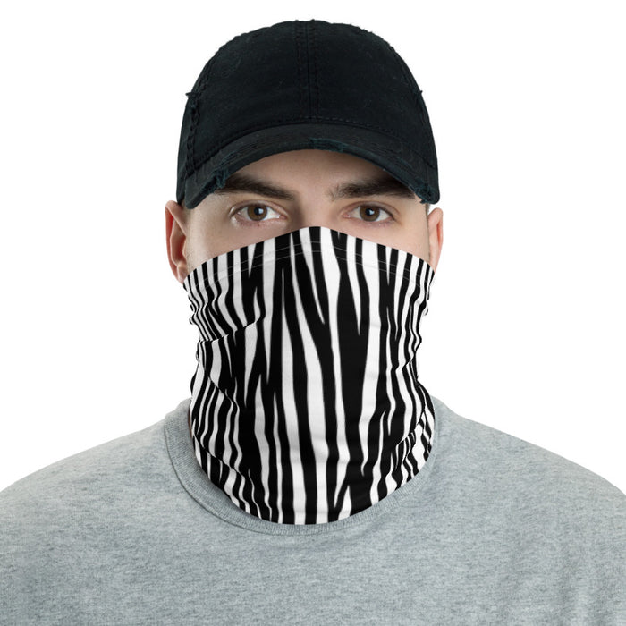 The Original Zebra Neck Gaiter Mask