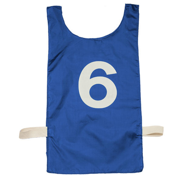 Dozen Numbered Heavyweight Nylon Pinnie