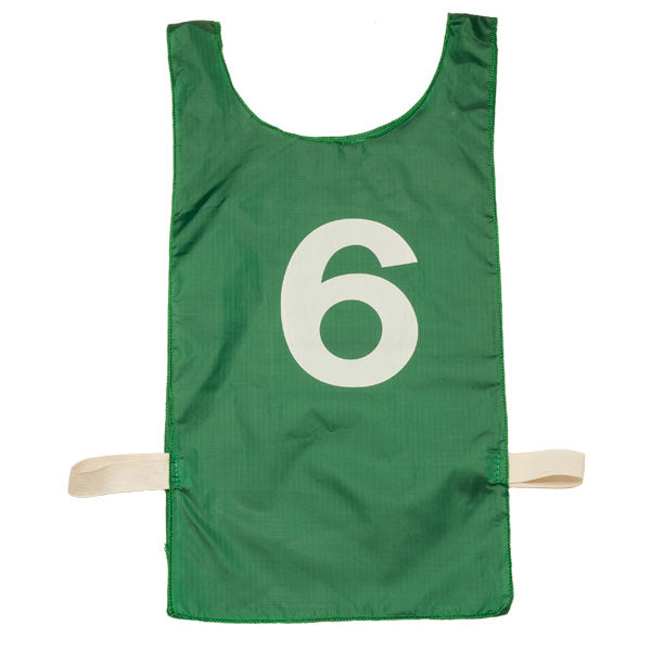 Numbered Heavyweight Nylon Pinnie | Set of 12