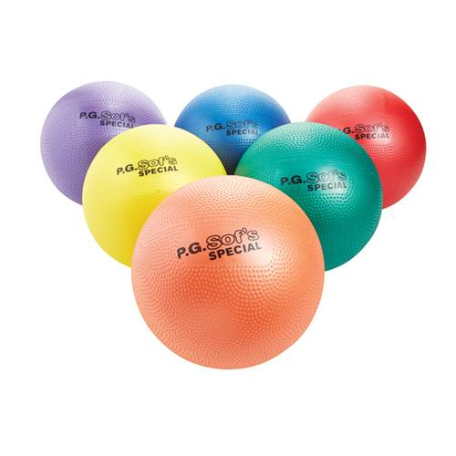 P.G. Sof's Foam Playground Balls Set of 6 - 8 Inch