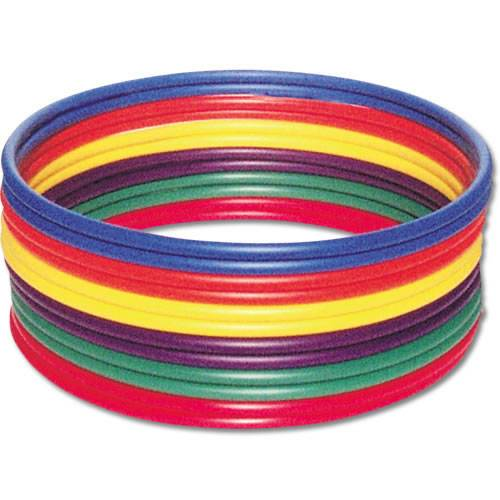 "Dozen Plastic Hoops | 24"", 30"", or 36"" Options"