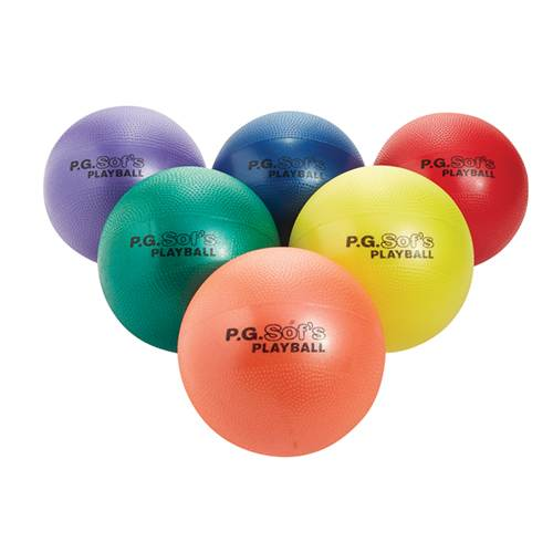 P.G. Sof's Foam Playground Balls Set of 6