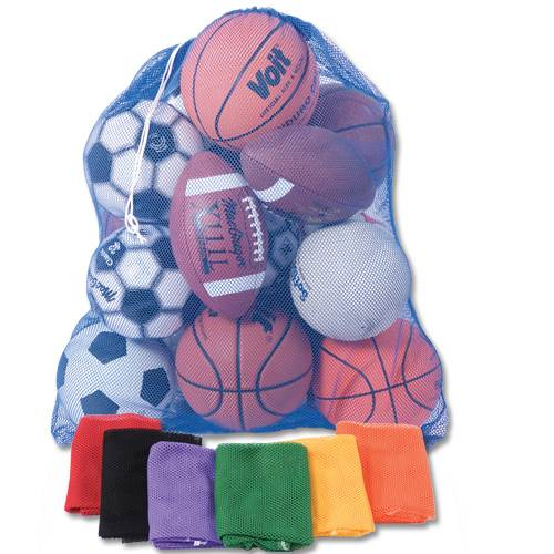 Heavy Duty Mesh Ball and Equipment Bags - 36L X 32W