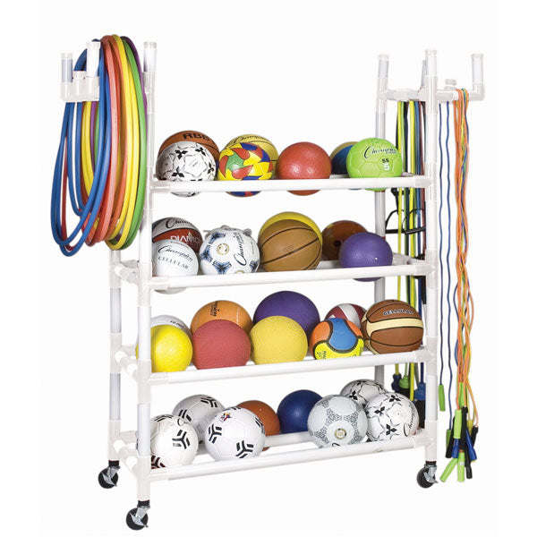 Athletic Equipment Storage Cart