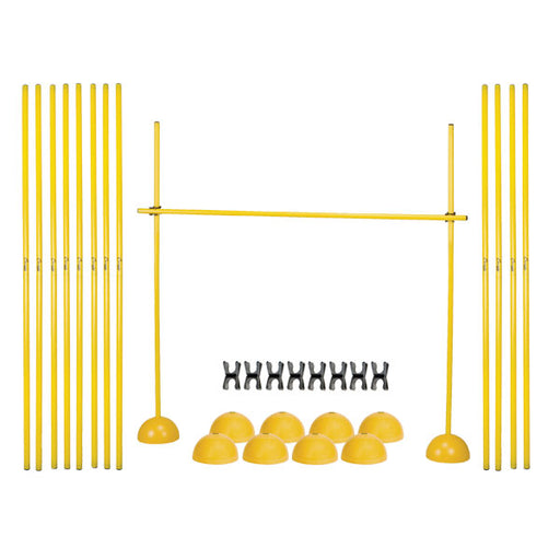 Champion Sports Agility Plyo Hurdle Set - 8 Poles