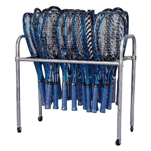Tennis Racket Stand | Holds 64 Rackets