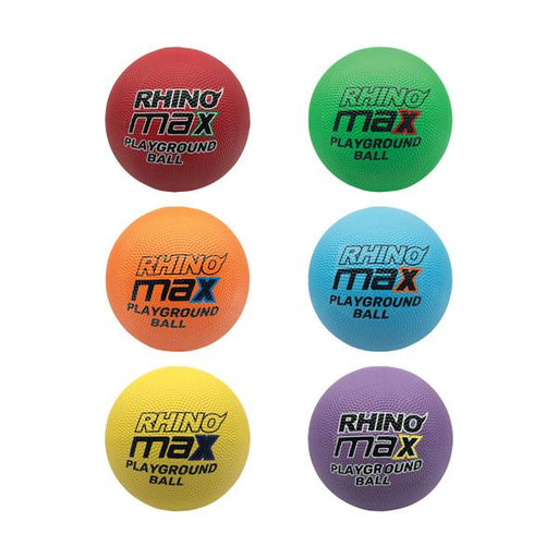 8.5 Rhino Max Playground Ball Set of 6