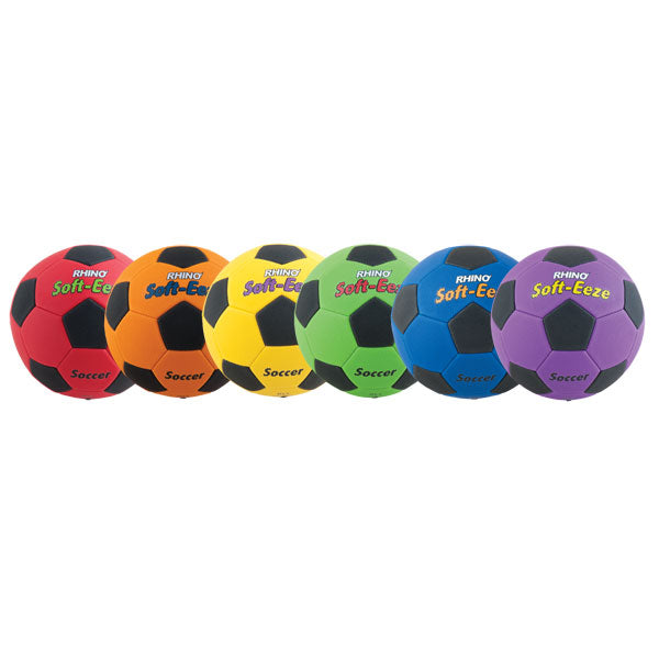 "Rhino Soft-Eeze 8"" Soccer Ball Set 
