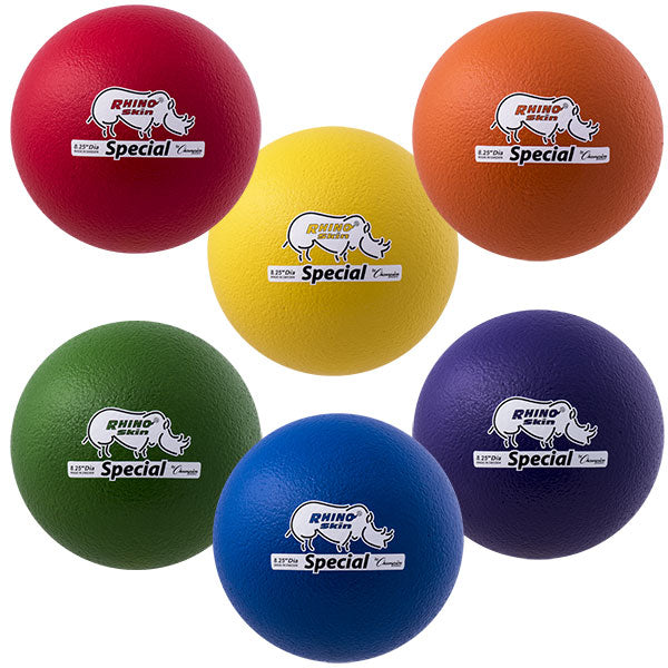 "8.25"" Rhino Skin Medium Bounce Special Foam Balls"