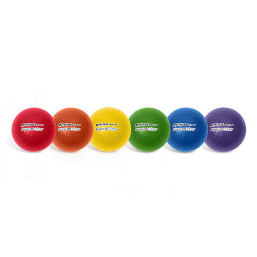 3.5 Inch Rhino Skin® High Bounce Super 90 Foam Ball - Set of 6