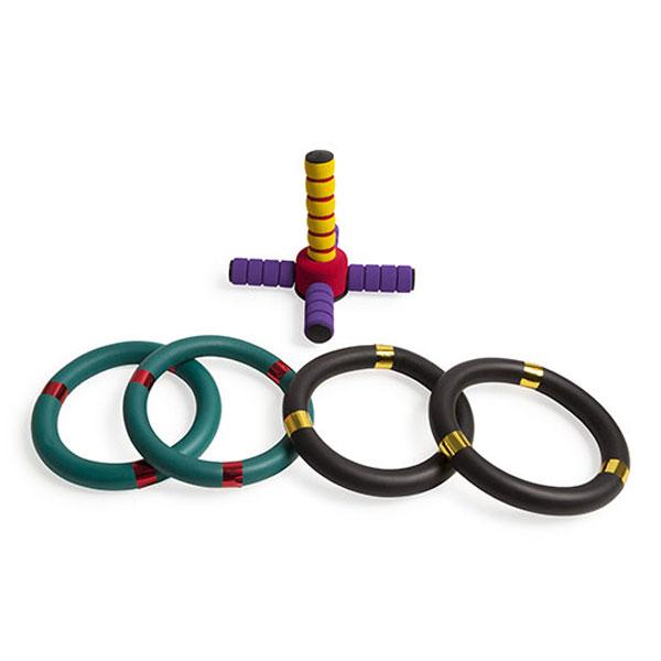 Champion Sports Foam Ring Toss Set
