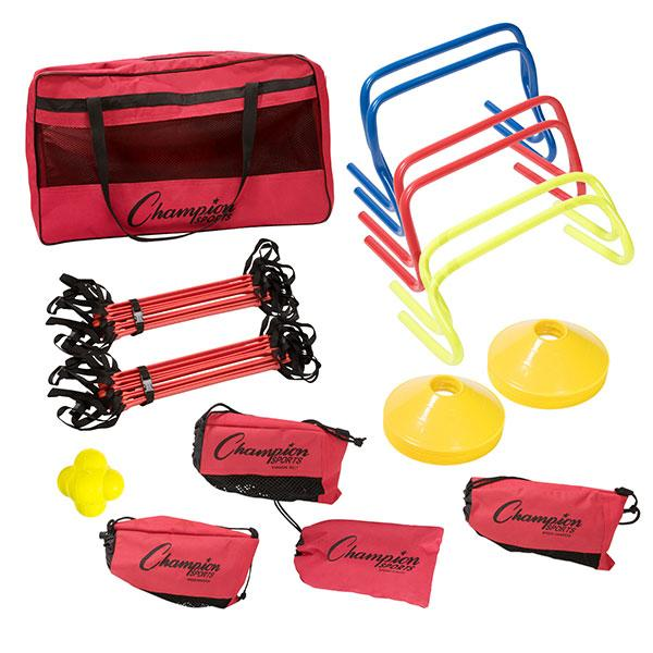 Champion Sports Speed and Agility 19 Piece Kit