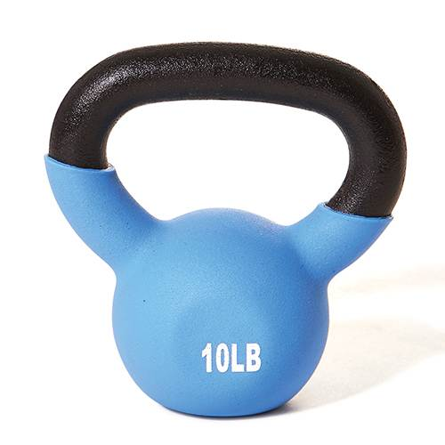 Champion Barbell Vinyl Coated Kettlebells - 10 lb