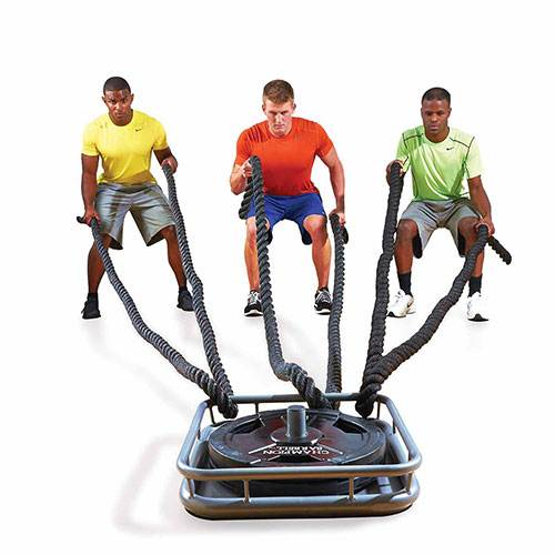 Fitness Power Battle Ropes Anchor Station