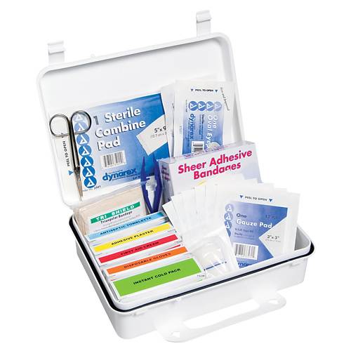 25 Person First Aid Kit - 138 Piece