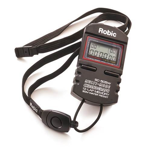Robic SC505W 12 Stopwatch Memory Timer