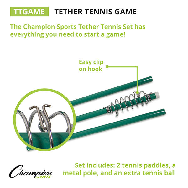 Tether Tennis Complete Game Set