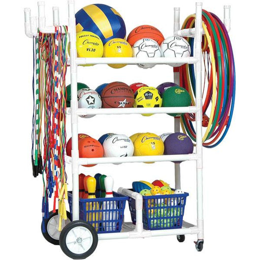 Heavy-Duty Sports Equipment Cart - Champion Sports