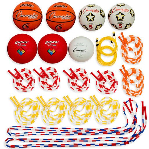 Champion Sports Playground Games Variety Pack - 22 Piece Set