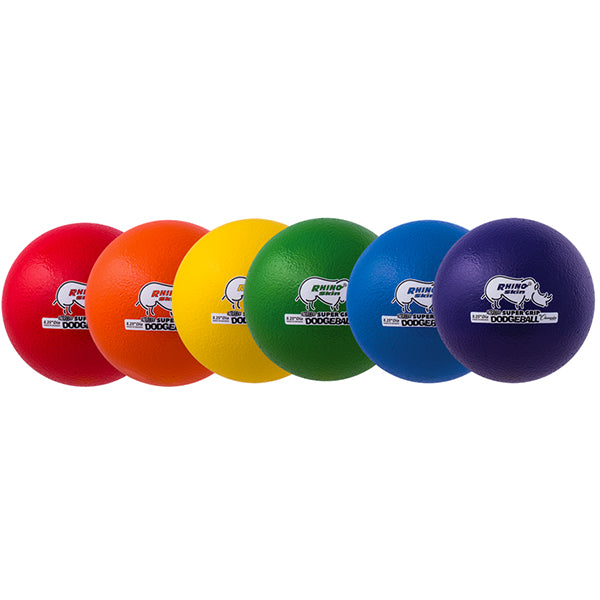 8.5 Rhino Skin Ultramax Dodgeballs Set of 6