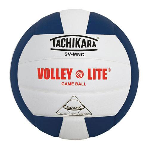 Tachikara Volley-Lite® Stingless Volleyball Blue/White
