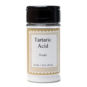 Tartaric Acid, 3.4oz