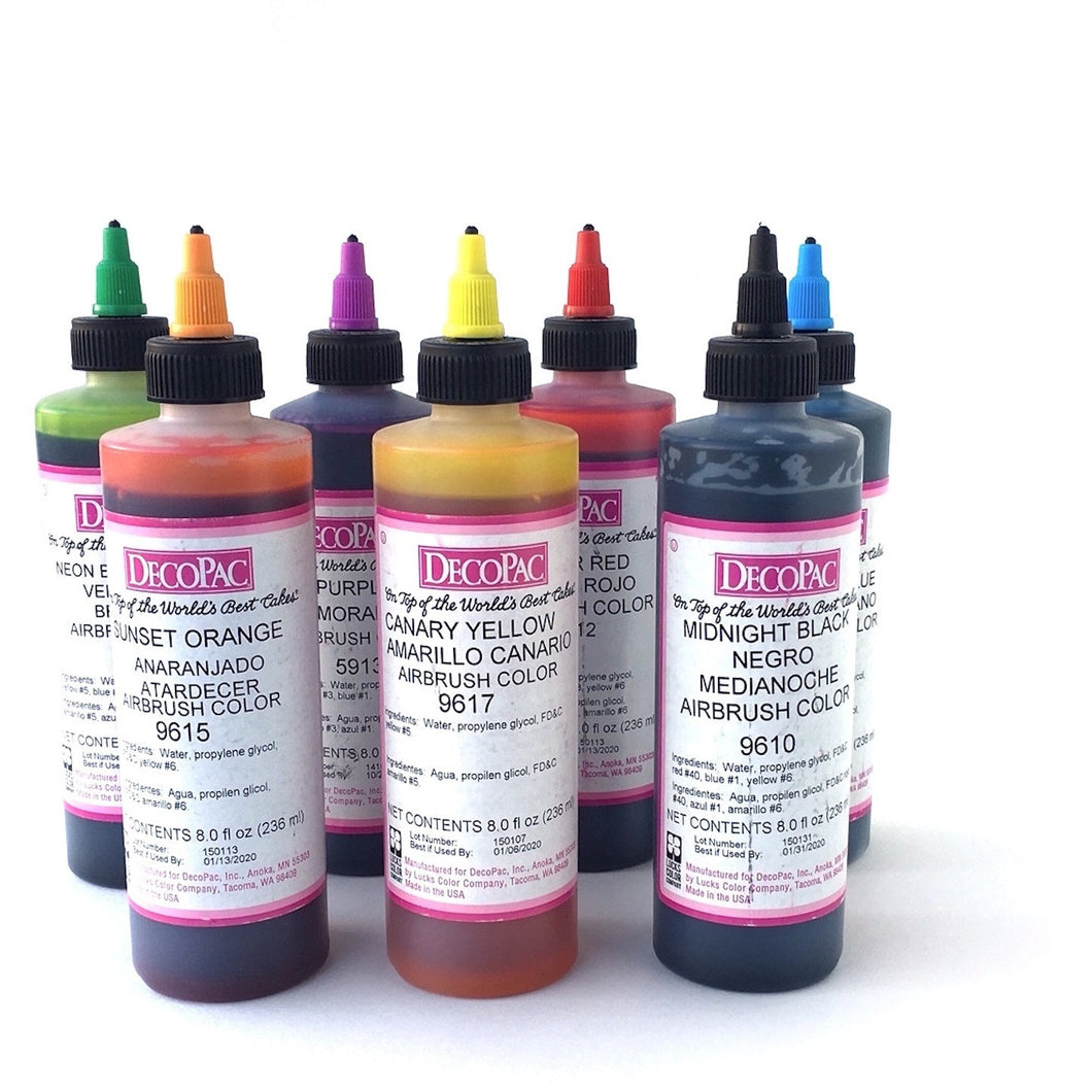 Airbrush Colors 8oz