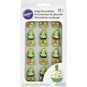 Dinosaur Icing Decorations
