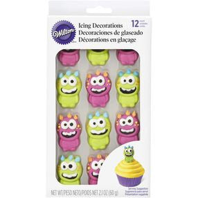 Monster Icing Decorations