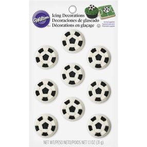 Soccer Icing Decorations