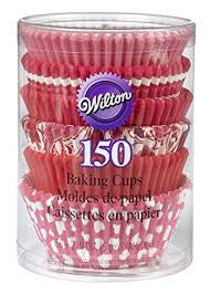 Wilton Pink/Hearts Assortment, 150ct