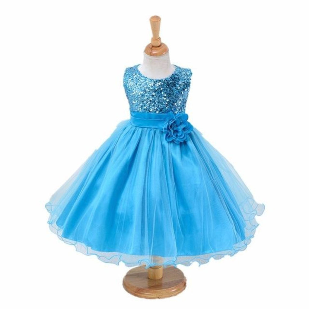 Girls Dress Wedding Party Princess Dresse for girl Party Costume ...