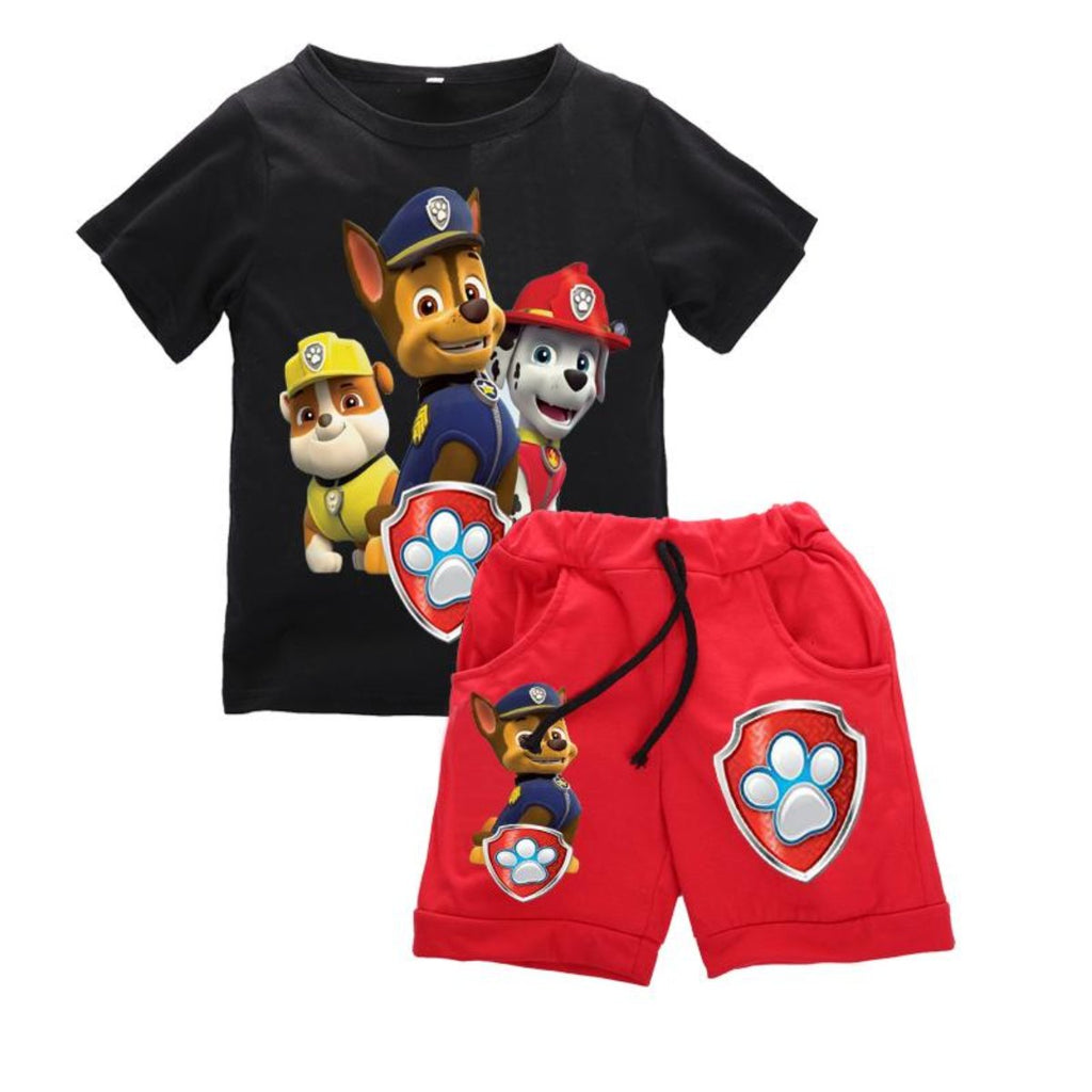 children baby boys cartoon clothes sets kids character short sleeve shirt animal printed clothing sets child - Toddler Cartoon Characters