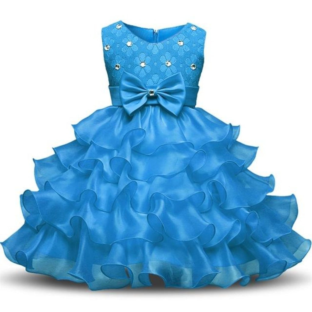 Flower Girl Dress For Baby Girl Birthday Outfits Children\'s Girls ...