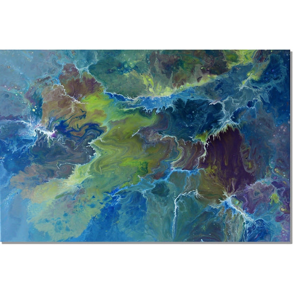Agate Tempest - 76cm x 51cm - Original-Techura Art & Design
