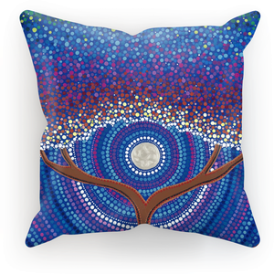 Arrival - Cushion Print-Techura Art & Design