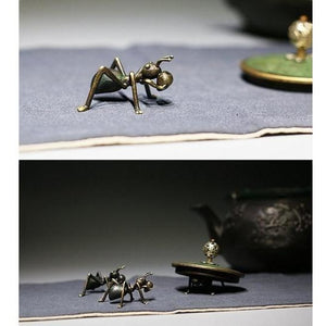 Colored Brass Ant-Techura Art & Design