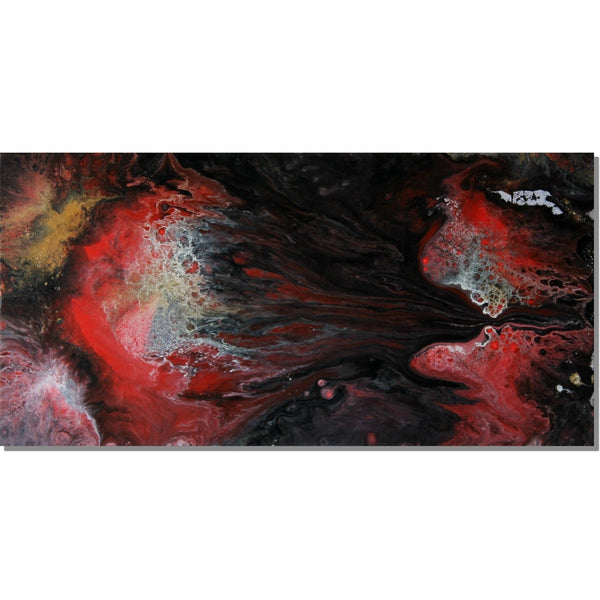 Cosmic Comet - 60cm x 30cm - Original-Techura Art & Design