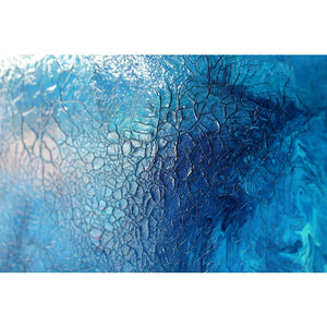 Crackle Bay - 100cm x 100cm - Original-Techura Art & Design