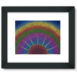 Our angel at Sunrise - Framed Fine Art Print-Techura Art & Design