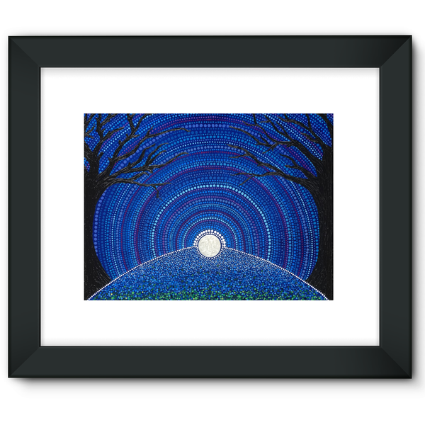 Star-filled Ancient Sky - Framed Fine Art Print-Techura Art & Design