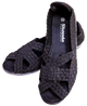 Skooda Sandals Ladies Black, Black soles, get second pair for half price