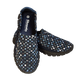 Skooda Navy Speckle Slip on leisure and water shoes