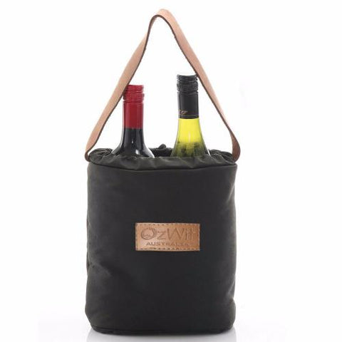 Insulated twin wine cooler