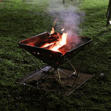 Quokka, folding fire pit, Travel Pits