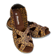 Skooda Ladies Leopard leisure and water sandals, get second pair for half price